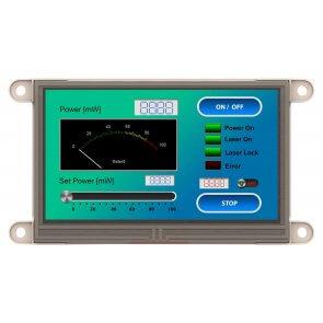"Modul ecran tactil LCD 4.3"" și adaptor Beaglebone"