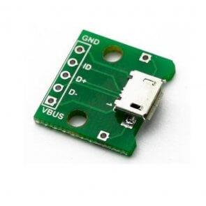 Modul adaptor Micro USB