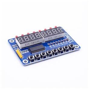 Modul LED cu butoane TM1638