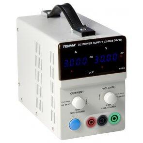 Sursă de alimentare programabilă cu control digital Tenma 72-2685, 0-30V 0-3A