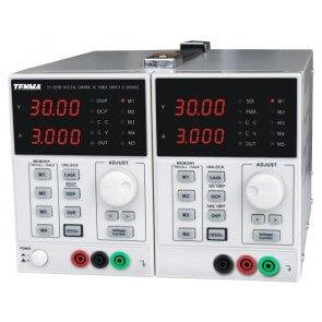 Sursă de alimentare dublă programabilă Tenma 72-10500, 0-30V 0-3A