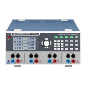 Sursă de alimentare programabilă  R&S HMP4040 cu 4 ieșiri 0V - 32V, 10A