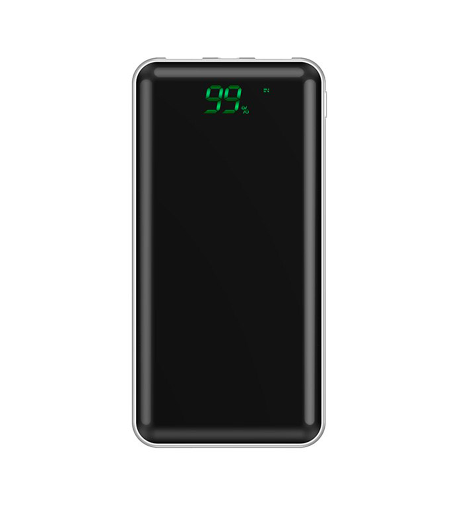 acumulator extern power bank lcd display 10000mah alb